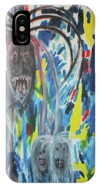 Conflicting Minds Phone Case by Randall Ciotti