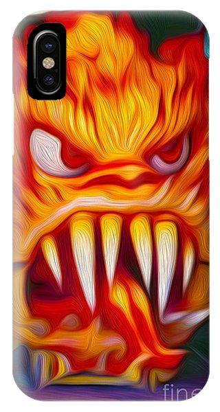 Hot Head Devil IPhone Case