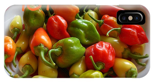 Hot Hot Peppers IPhone Case