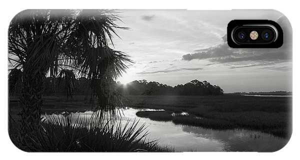 Hot June Sunrise I        Bw IPhone Case