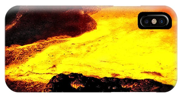 Hot Rock And Lava IPhone Case