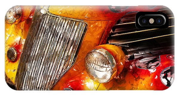Hot Rod Flames IPhone Case