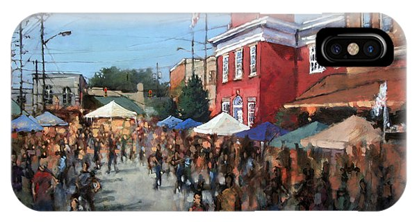 Courthouse iPhone Case - Hot Sauce Festival by Dan Nelson