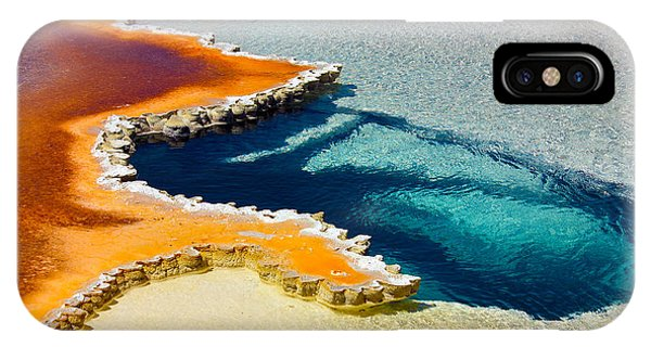 Hot Spring Perspective IPhone Case