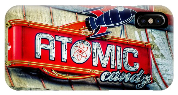 Atomic iPhone Case - Hot Stuff by Joan Carroll