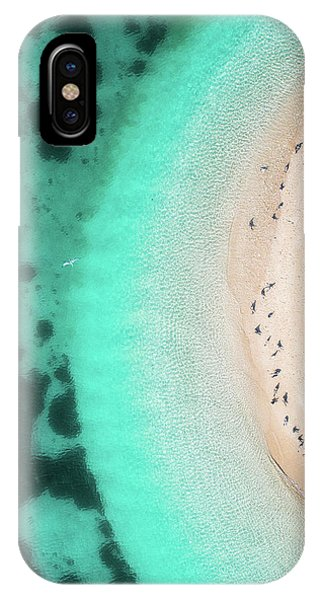 Teal iPhone Case - Hot Summer by Faisal Alnomas
