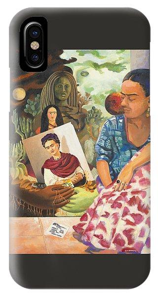 Hot Ticket Frida Kahlo Meta Portrait IPhone Case