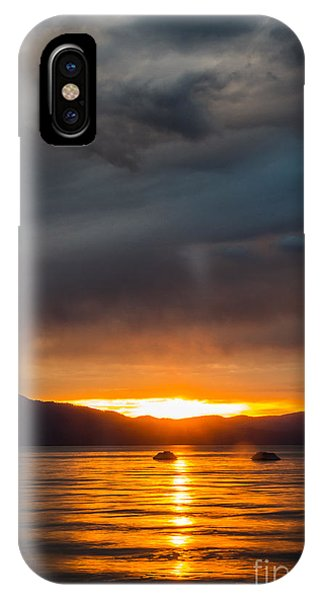 Jet Ski iPhone X Case - Hot Water by Mitch Shindelbower