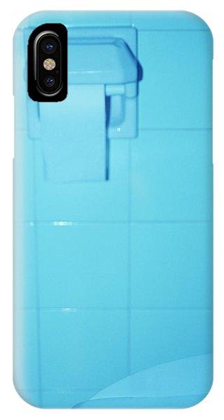 Toilet iPhone Case - Hotel Bathroom Toilet by Cristina Pedrazzini/science Photo Library