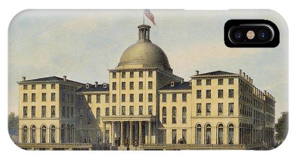 Hotel Burnet Circa 1850 IPhone Case