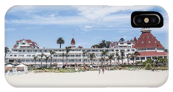 Coronado iPhone Case - Hotel Del Coronado by Ralf Kaiser