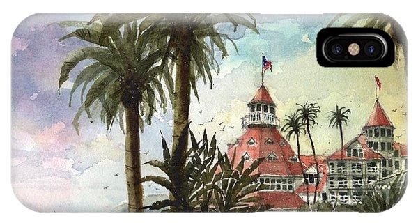 Coronado iPhone Case - Hotel Del Coronado by Tim Oliver