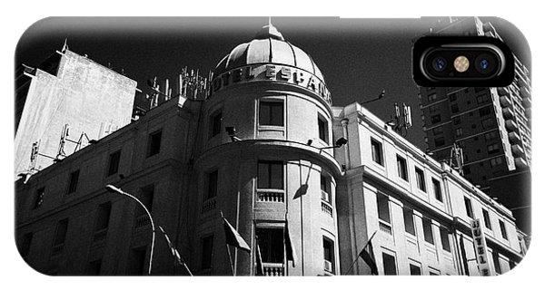 hotel espana Santiago Chile Phone Case by Joe Fox