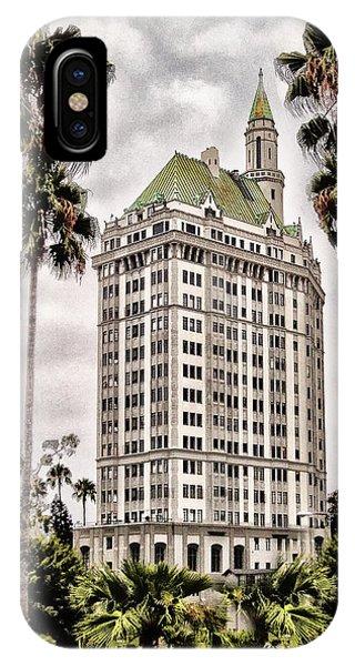 Hotel In Long Beach IPhone Case