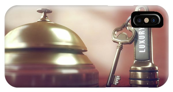 Hotel Key And Bell Phone Case by Ktsdesign/science Photo Library