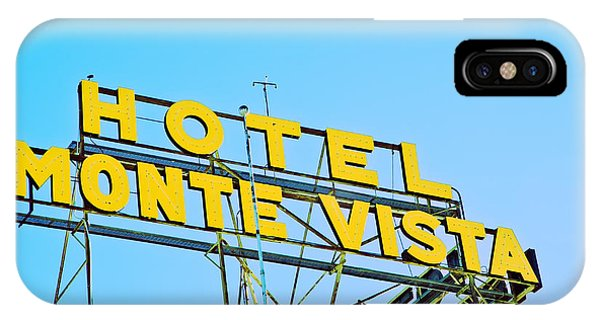 Hotel Monte Vista IPhone Case