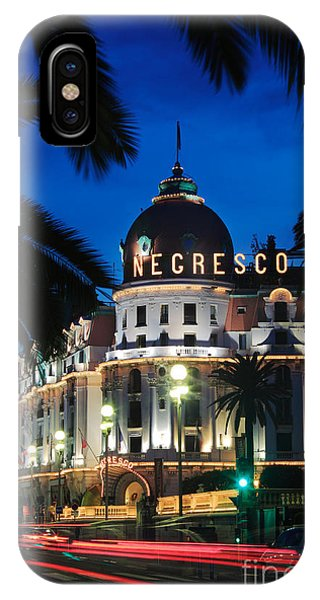 French Riviera iPhone Case - Hotel Negresco by Inge Johnsson