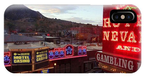 Hotel Nevada IPhone Case