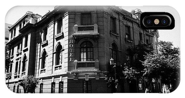 hotel paris-londres barrio paris londres Santiago Chile Phone Case by Joe Fox