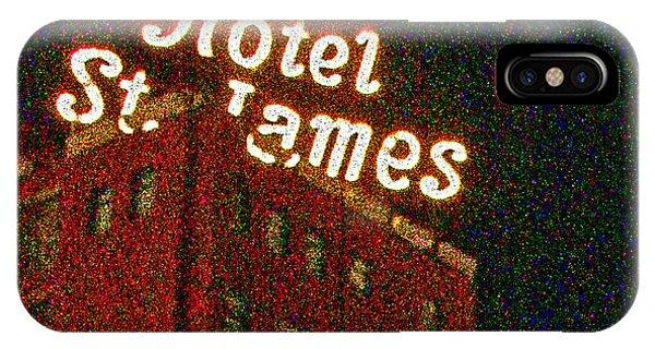 Hotel - St James San Diego IPhone Case