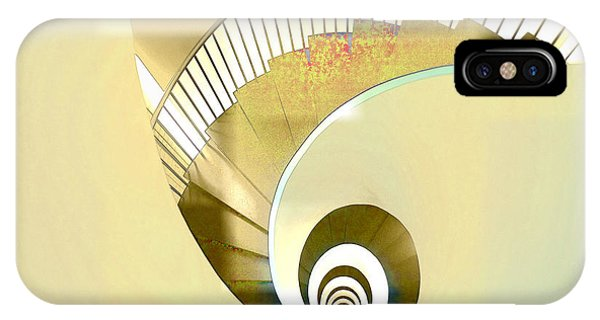 Hotel Staircase Lisbon Phone Case by Indiana Zuckerman