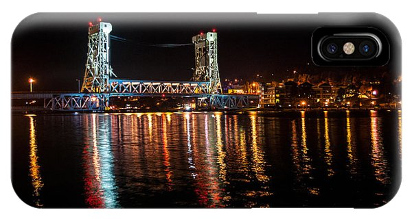 Houghton Lift Bridge  IPhone Case