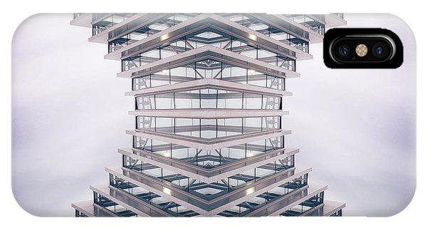 Futuristic iPhone Case - Hourglass by Damiano Serra