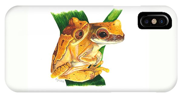 Hourglass Treefrog IPhone Case