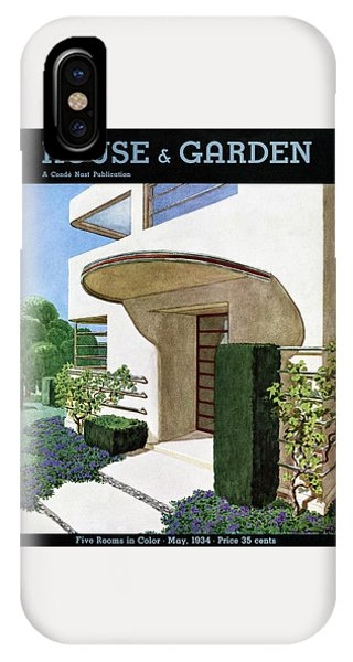 House & Garden Cover Illustration Of A Modern IPhone Case