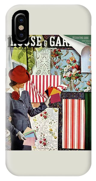Magazine Cover iPhone Case - House & Garden Cover Illustration Of A Woman by Joseph B. Platt
