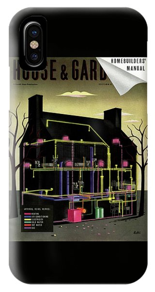 House And Garden Cover Illustration Of The Internal IPhone Case