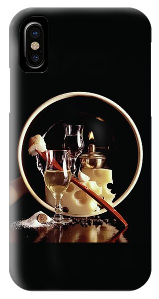 House And Garden's Swiss Cook Book Cover Featuring IPhone Case