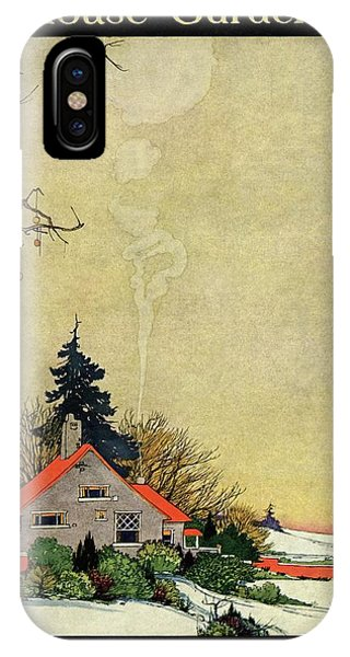 House And Garden Annual Building Number Cover IPhone X Case