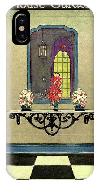House And Garden Autumn Decorating Number Cover IPhone Case