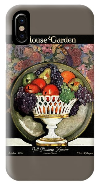 Magazine Cover iPhone Case - House And Garden Fall Planting Number Cover by Ethel Franklin Betts Baines