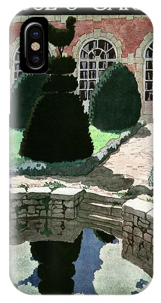House And Garden Fall Planting Number Cover IPhone Case