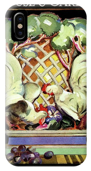 House And Garden Furniture Number IPhone Case
