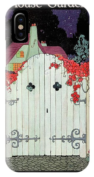 House And Garden Garden Furnishing Number Cover IPhone Case