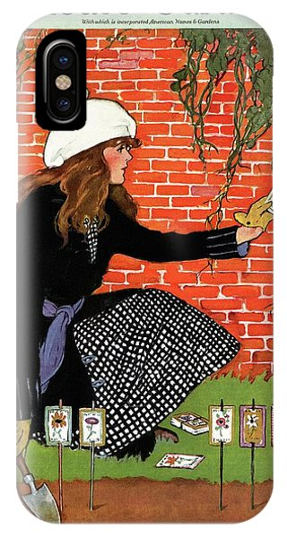 House And Garden Garden Planting Number Cover IPhone Case