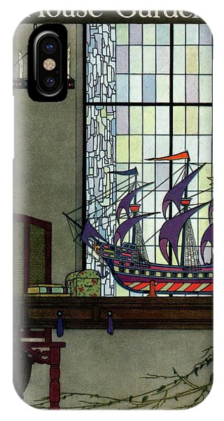 House And Garden IPhone Case