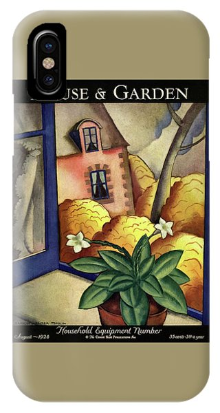 House And Garden Household Equipment Number Cover IPhone Case