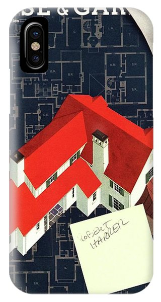 House And Garden Houses With Plans Cover IPhone Case