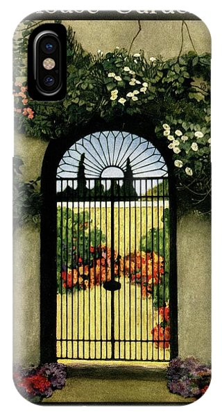 House And Garden Interior Decoration Number IPhone Case