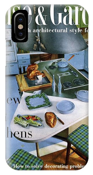 House And Garden Kitchen Ideas Issue IPhone Case
