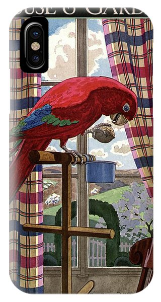 House And Garden Spring Furnishing Number Cover IPhone Case