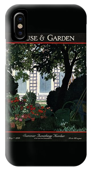 House And Garden Summer Furnishings Number Cover IPhone Case