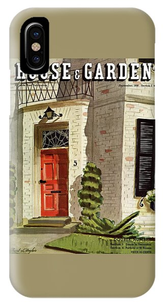 House And Garden Trends In Decorating Cover IPhone Case