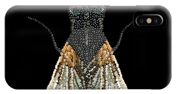 House Fly Bedazzled IPhone Case