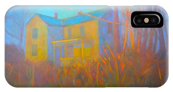 iPhone Case - House In Blacksburg by Kendall Kessler
