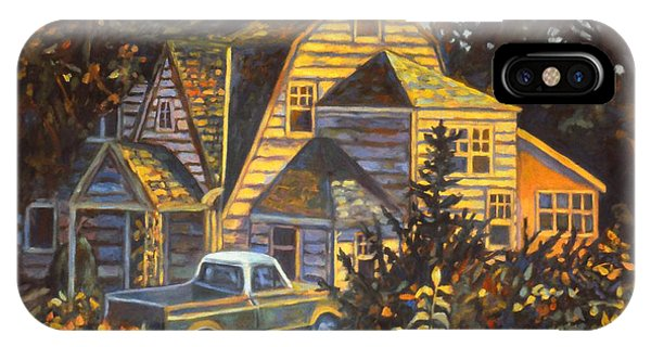 IPhone Case featuring the painting House In Christiansburg by Kendall Kessler